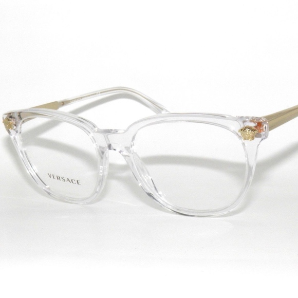 d4890bea3bb VERSACE 3242 CLEAR 148 EyEGlaSSes 54. M 5af4e3f846aa7c3032fa45f3. Other  Accessories ...
